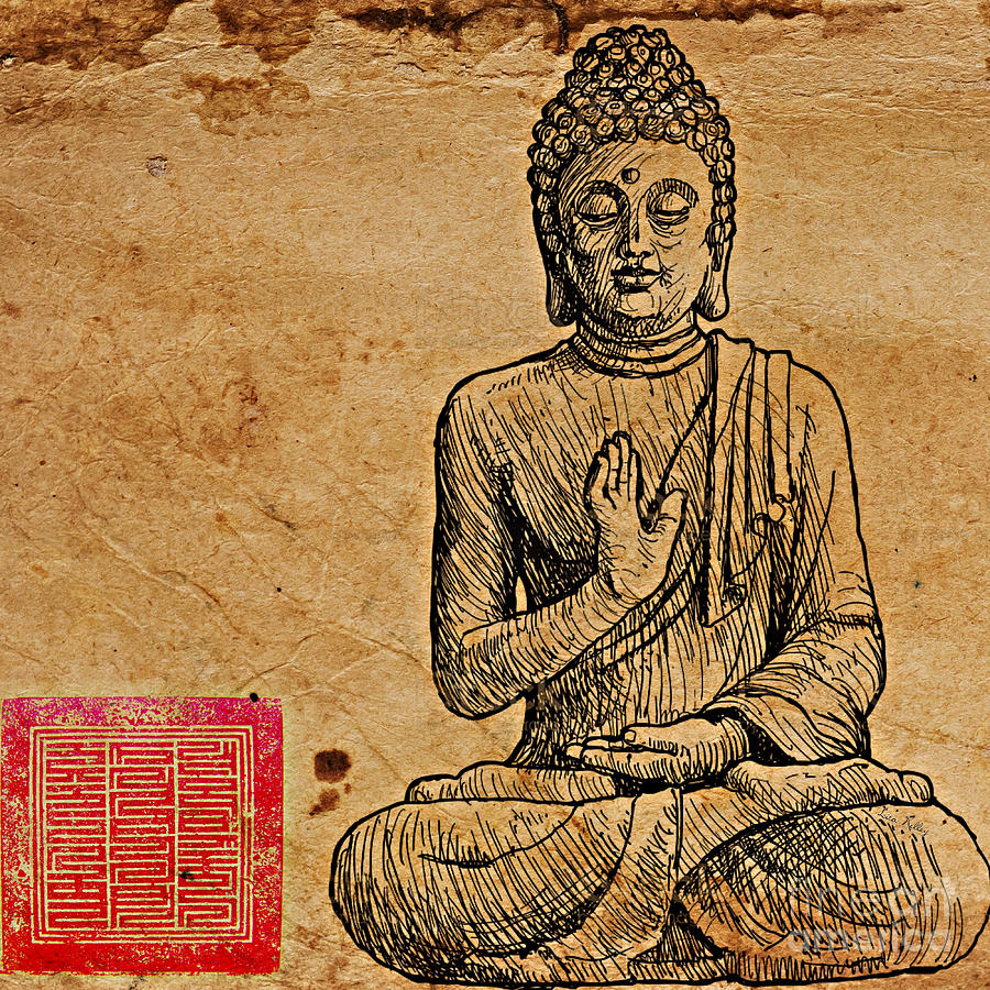 Buddha the Minimalist by Lita Kelley