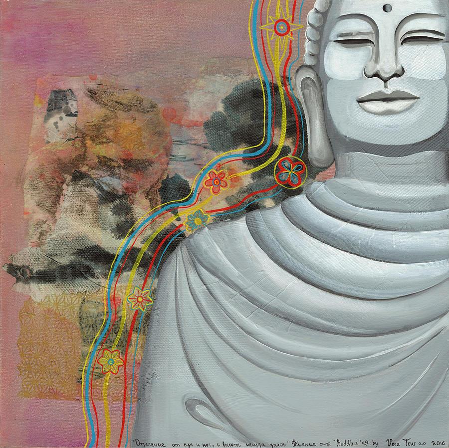 Buddha Painting - Buddha by Vera Tour
