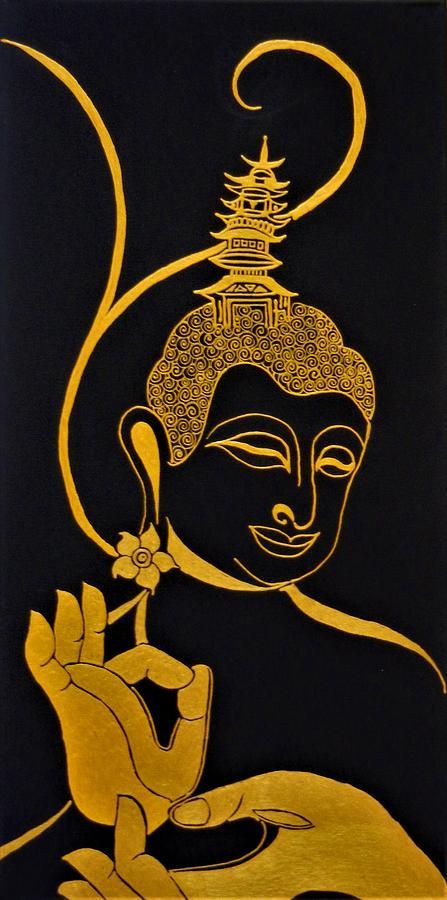 Buddha Xix Mixed Media
