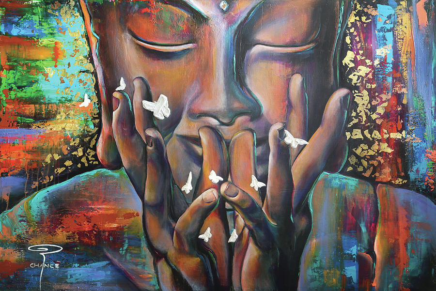 Buddhaflies by Robyn Chance