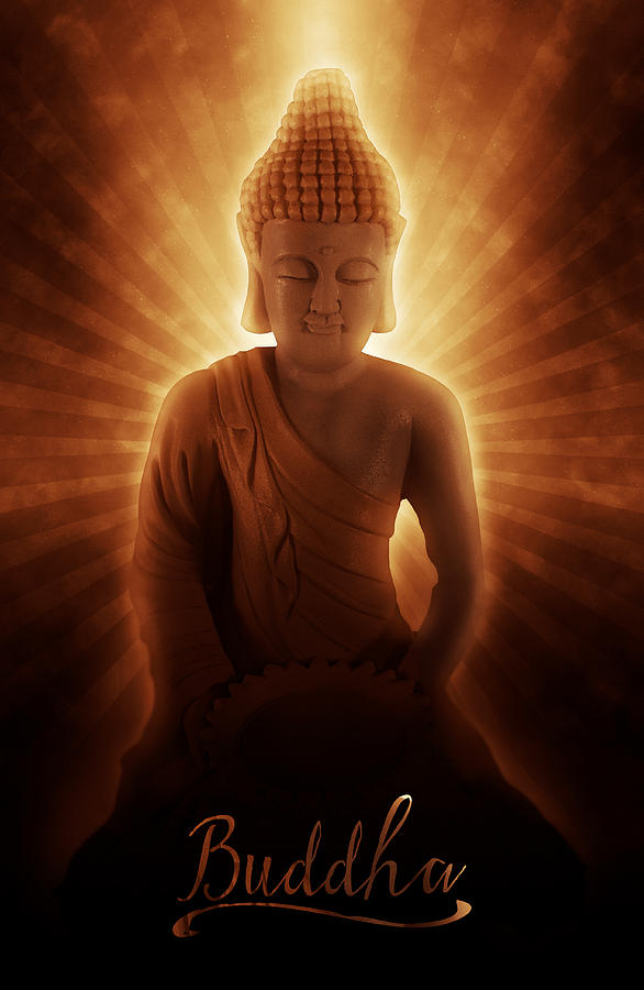 Buddha Photograph - Buddhas Enlightenment by Ray Van Gundy