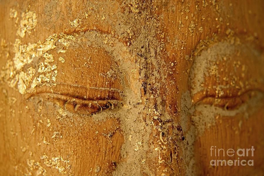 Zen Painting - Buddhas Eyes by Julia Hiebaum
