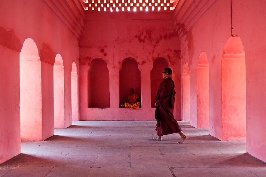 India Photograph - Buddhism by Marji Lang
