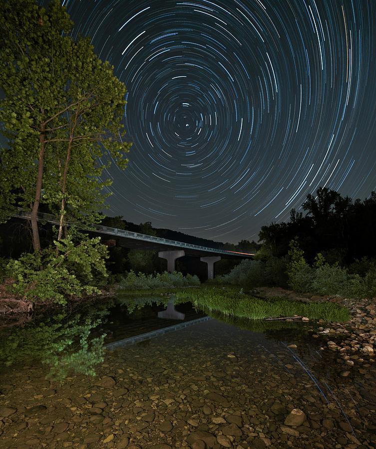 Buffalo River Ponca Access by Hal Mitzenmacher