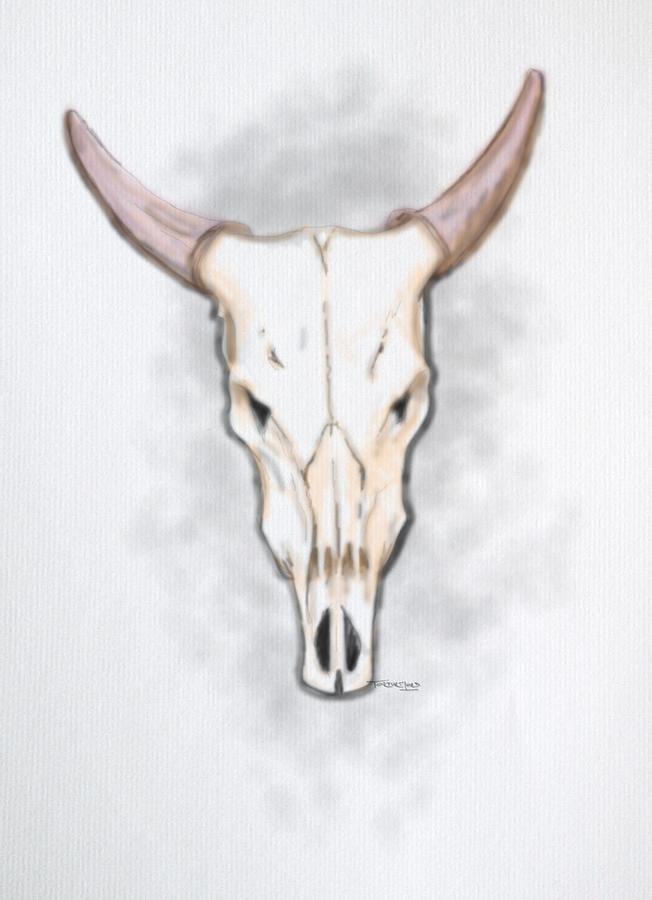 2015 Mixed Media - Buffalo by TortureLord Art