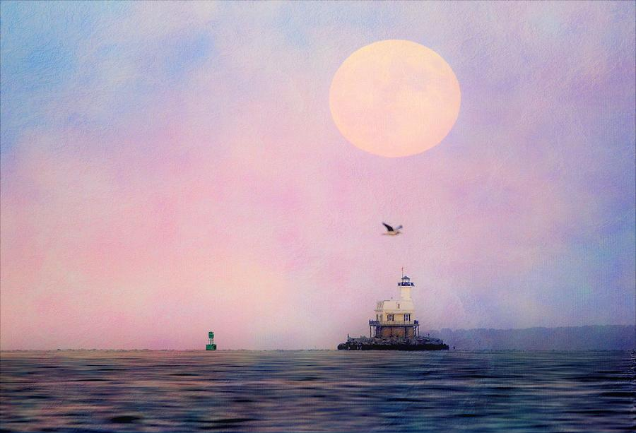 Lighthouse Photograph - Bug Light by Linda C Johnson