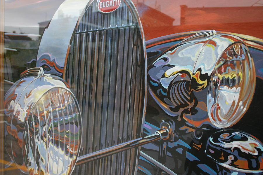 Bugatti Photograph by Dennis Curry