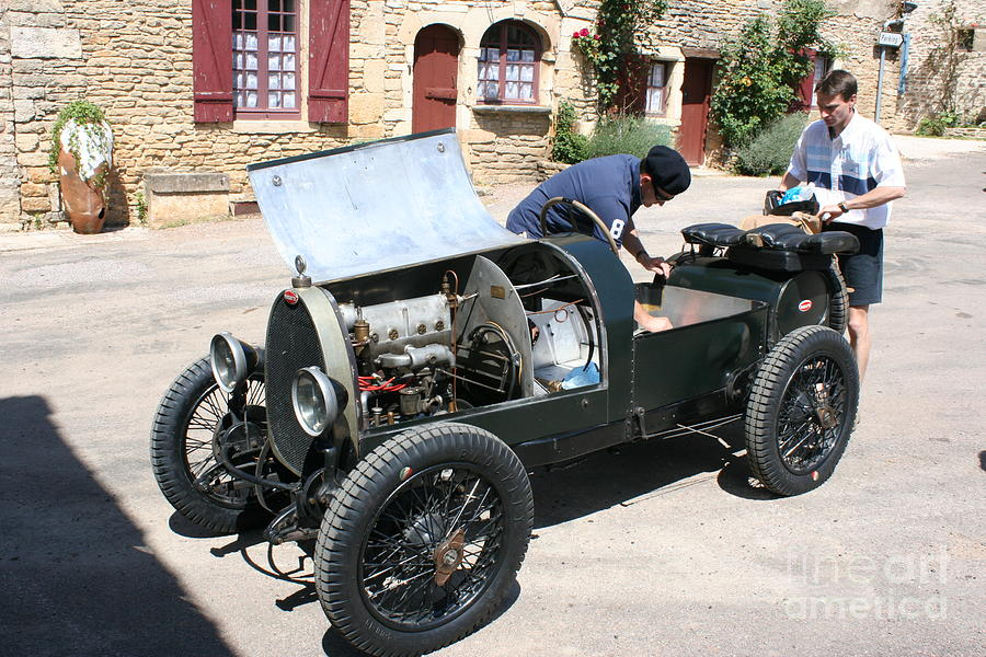 Oldtimer Photograph - Bugatti Oldtimer by Christiane Schulze Art And Photography