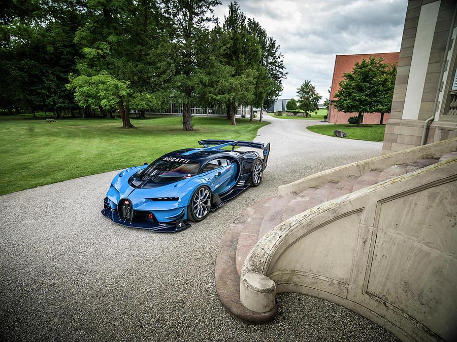 Bugatti Photograph - Bugatti Vision Gt by George Williams
