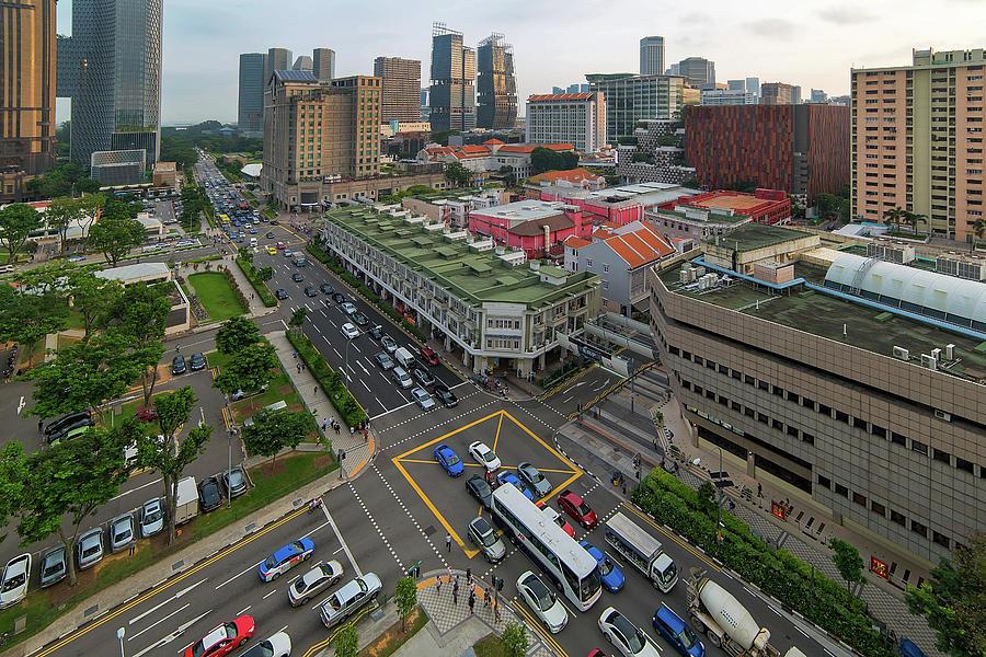 Bugis Photograph - Bugis Village Junction in Singapore Entertainment District by David Gn