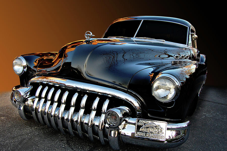Buick Photograph - Buick Eight Sled by Bill Dutting