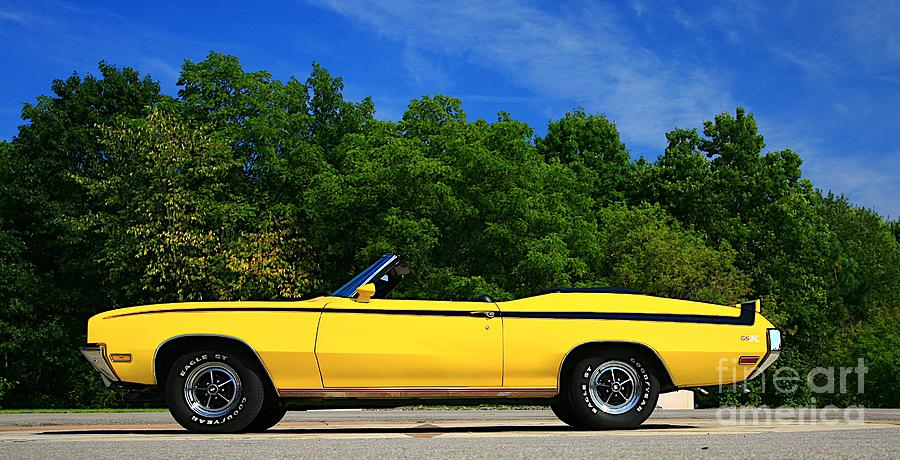Car Photograph - Buick Gsx by Robert Pearson