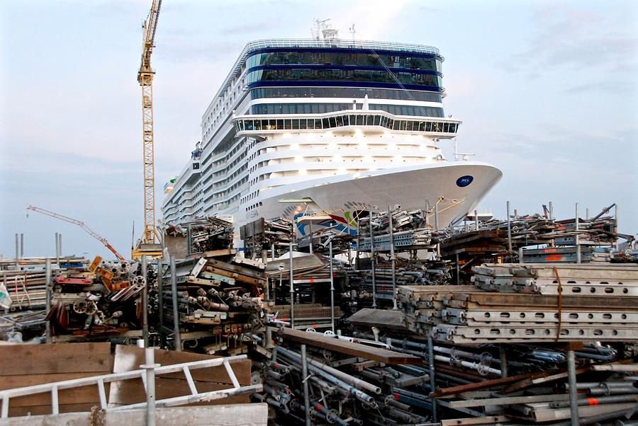Build Your Own Cruise Ship Photograph by David Coleman
