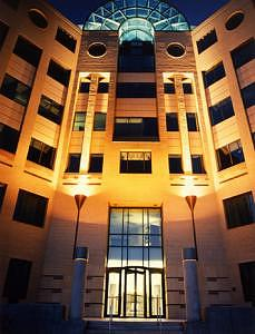 Building Photograph - Building At Night by William Love