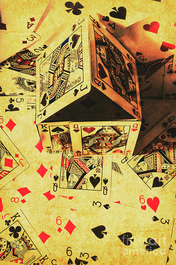 Gambling Photograph - Building Bets And Stacking Odds by Jorgo Photography - Wall Art Gallery