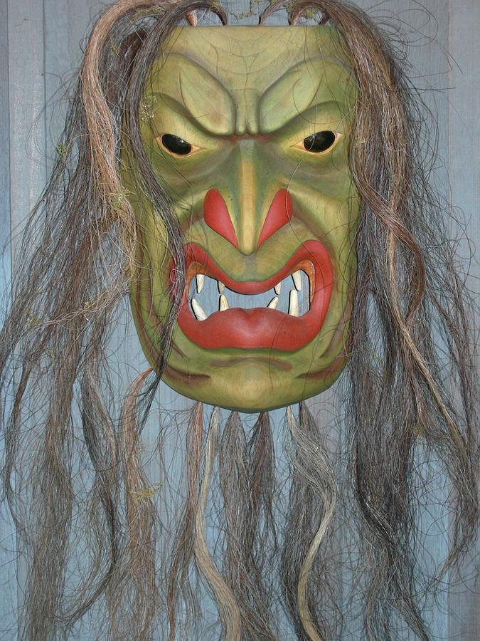 Masks Sculpture - Bukwus by Shane  Tweten