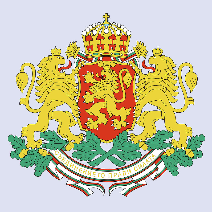 Bulgaria Coat Of Arms Drawing By Movie Poster Prints