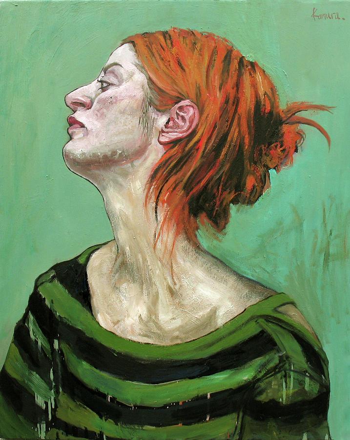 Portrait Painting - Bulgarian Girl 1 by Yuki Komura
