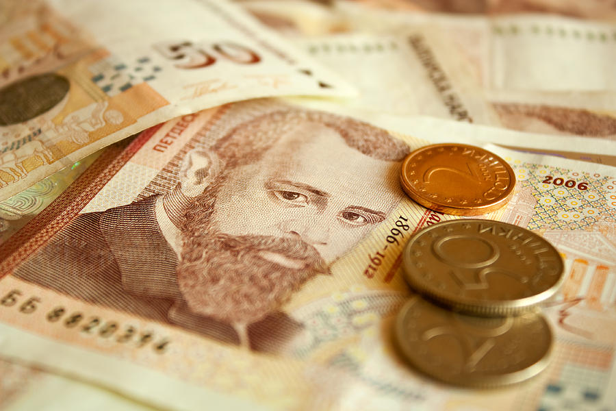 Background Photograph - Bulgarian Money by Boyan Dimitrov