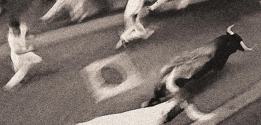 San Fermin Photograph - Bull Run 9 by Rafa Rivas