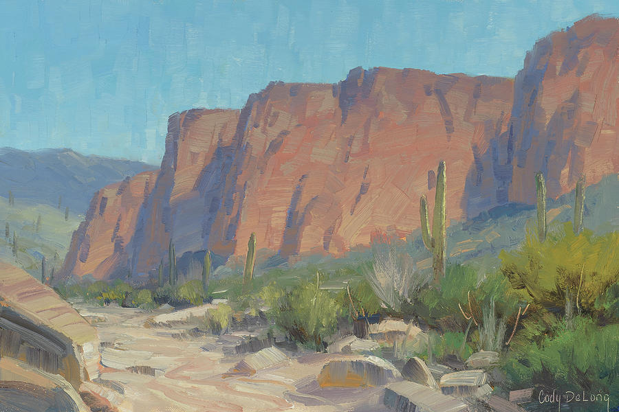 Arizona Artists Painting - Bulldog Cliffs by Cody DeLong