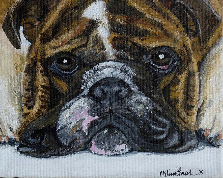 Bulldog Puddle by MKD Lincoln