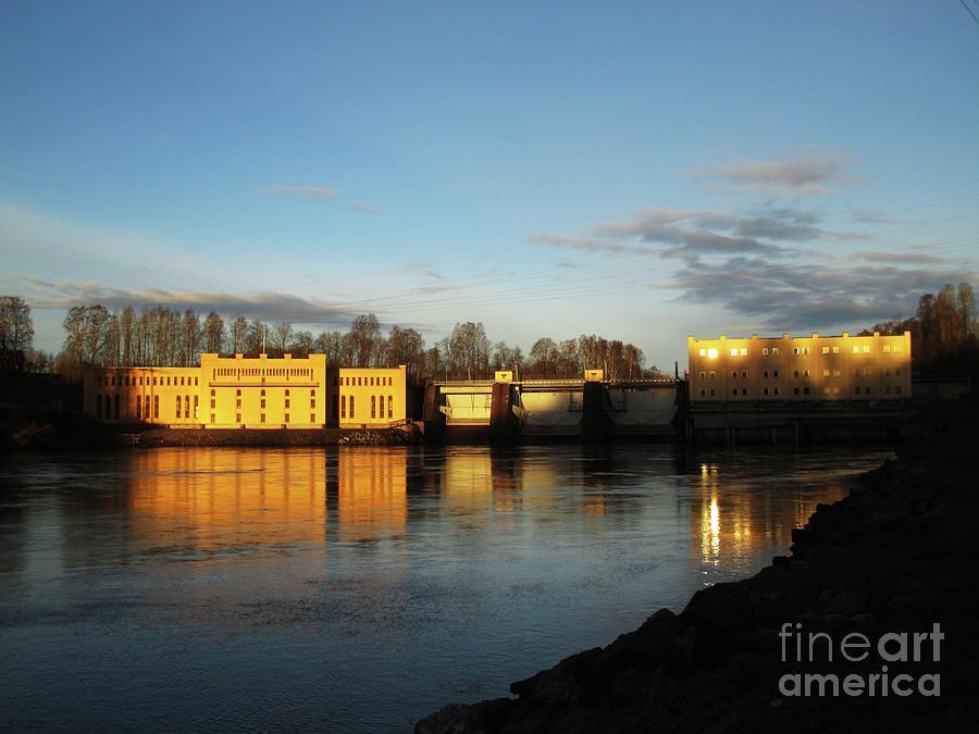 Bullerforsen Dawn by Martin Howard