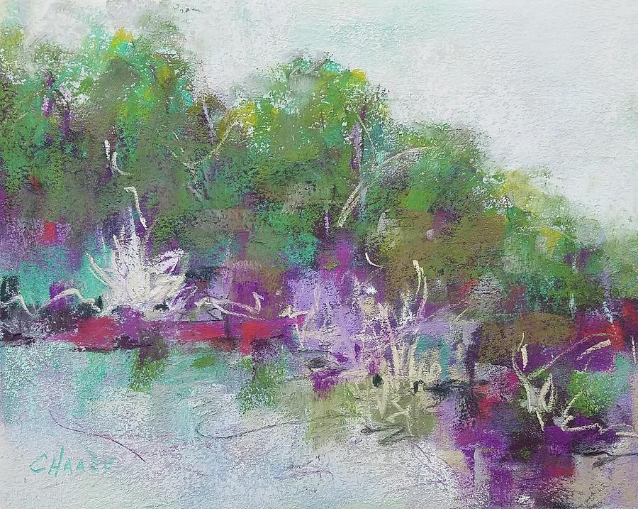 Landscape Pastel - Bullfrog Paradise by Cynthia Haase