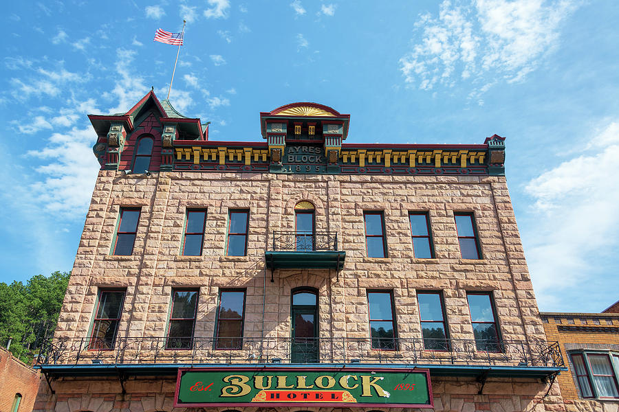 Deadwood Photograph - Bullock Hotel Facade by Jess Kraft