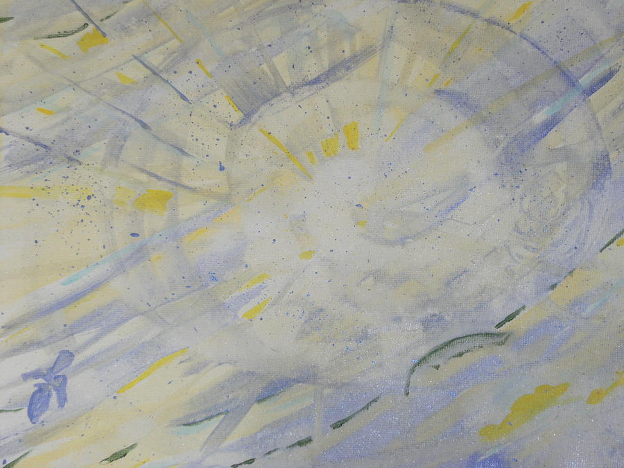 Bullseye Painting - Bullseye Ray by Bob Smith