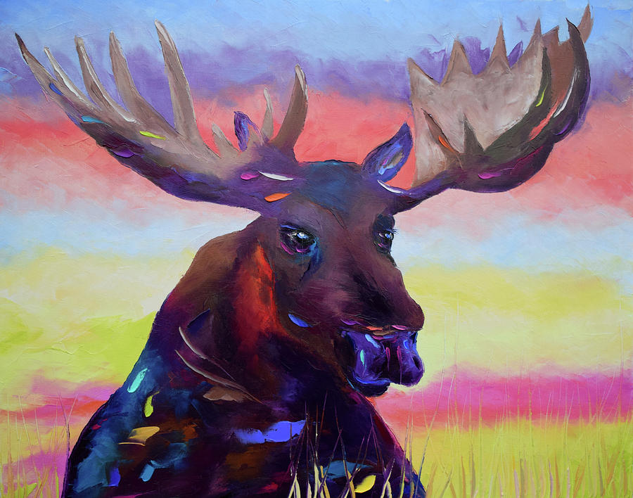 Fauvism Painting - Bullwinkle by Arturo Garcia