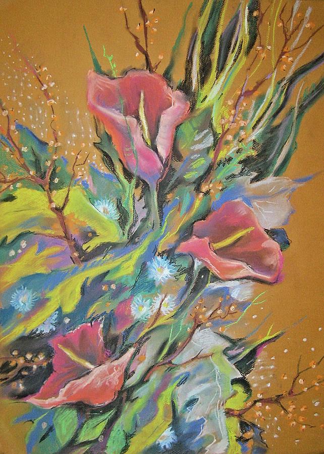 Bouquet Pastel - Bunch Of Flowers by Olena Chernyshova