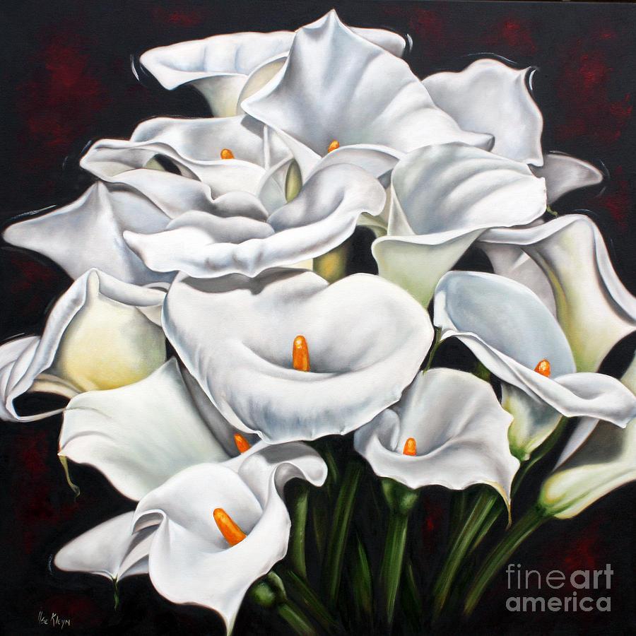 Lilies Sculpture - Bunch Of Lilies by Ilse Kleyn