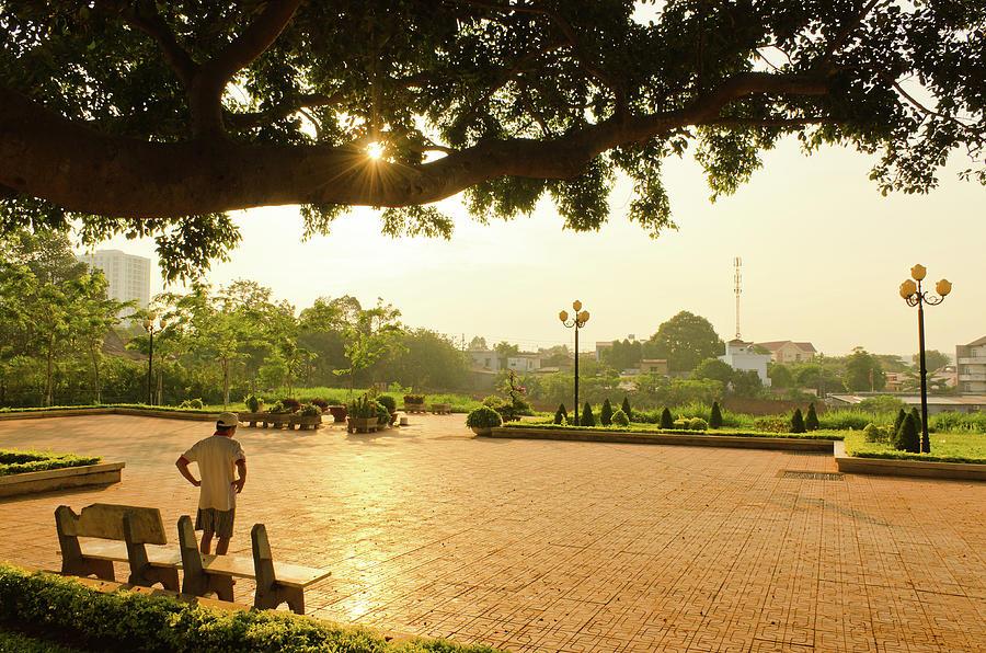 Buon Ma Thuot City Park Photograph By Tran Minh Quan