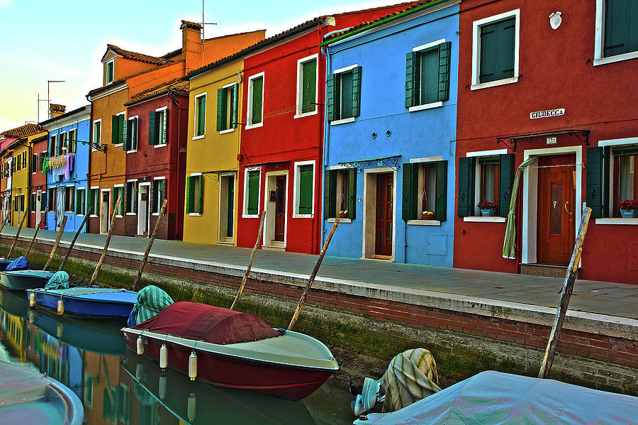 Burano Photograph - Burano by Ajay