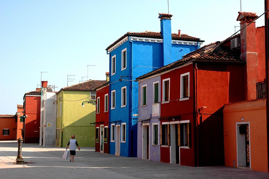 Italy Photograph - Burano Colors by Diego Bonomo