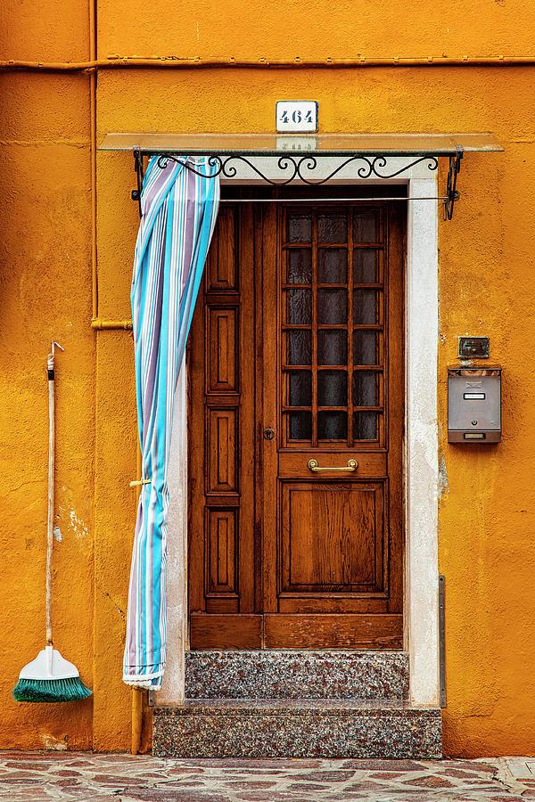 Burano Doorway Photograph
