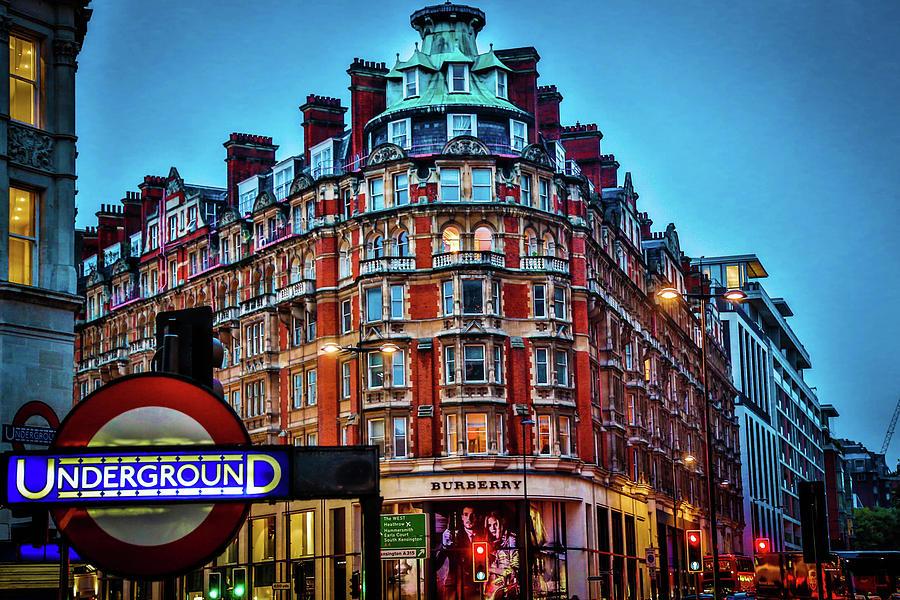 Burberry Photograph - Burberry - London Underground by Dan Pearce