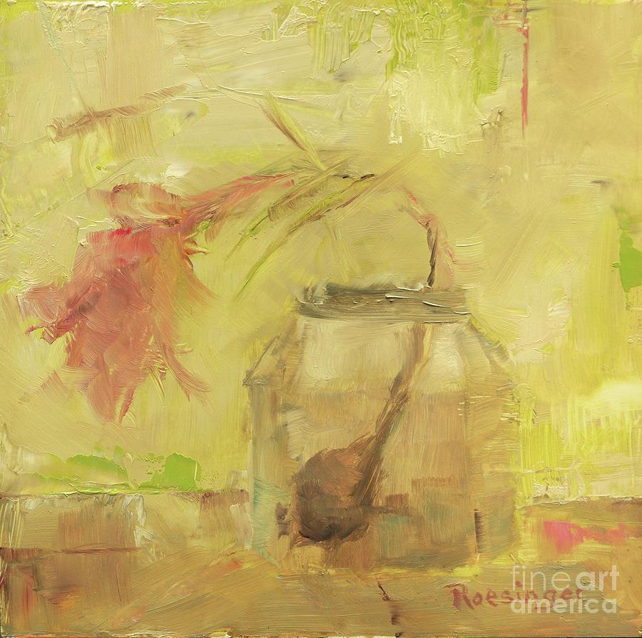 Flower Painting - Burgeon by Paint Box Studio