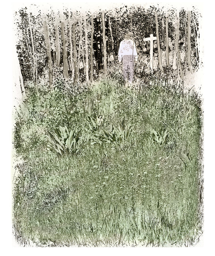 Burial Photograph - Burial Ground by Madeline Ellis