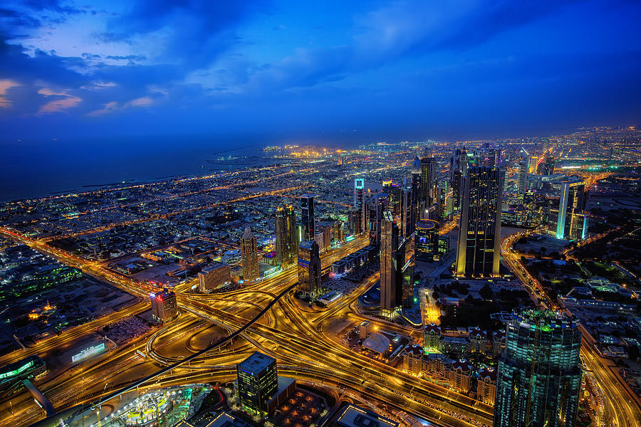Burj Khalifa View Photograph