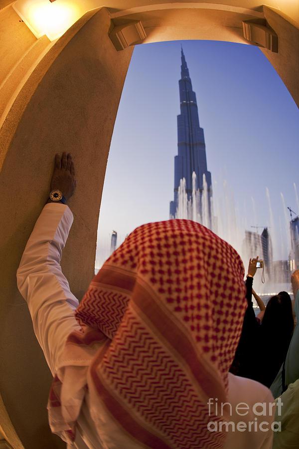 Arab Photograph - Burj Khalifa by Juergen Held