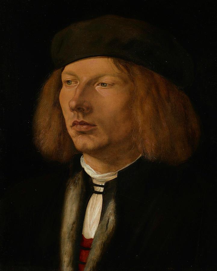 Albrecht Durer Painting - Burkhard Of Speyer by Albrecht Durer