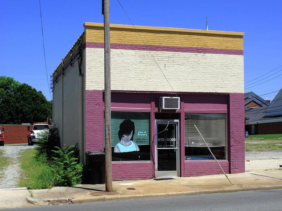 America Photograph - Burlington North Carolina - Small Town Business by Frank Romeo