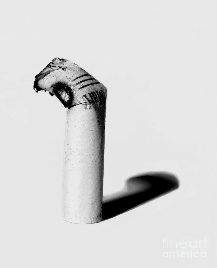 Cigarette Butt Photograph - Burned by Johnny Williams
