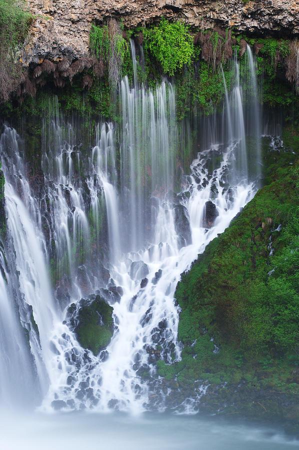 California Photograph - Burney Falls by Eric Foltz