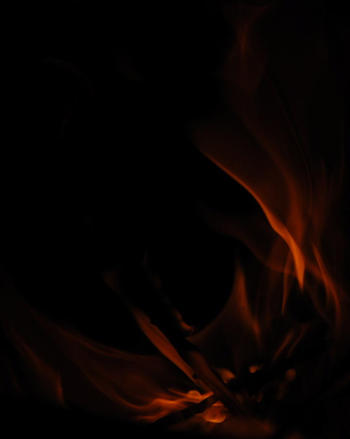 Burn Photograph - Burning Desire by Kimberly Camacho