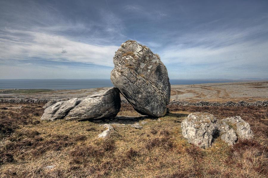 Burren Photograph - Burren Boulders by John Quinn