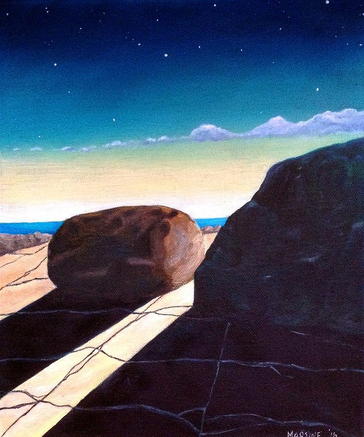 Burren Oil Painting