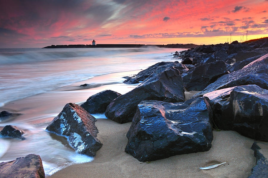 Burry Port Photograph - Burry Port 3 by Phil Fitzsimmons